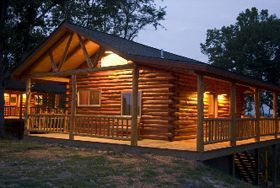 Eureka Springs West log cabin